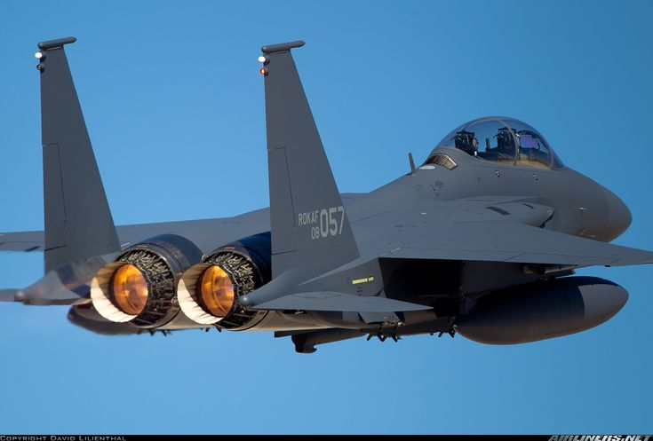 Boeing F-15K Slam Eagle aircraft picture