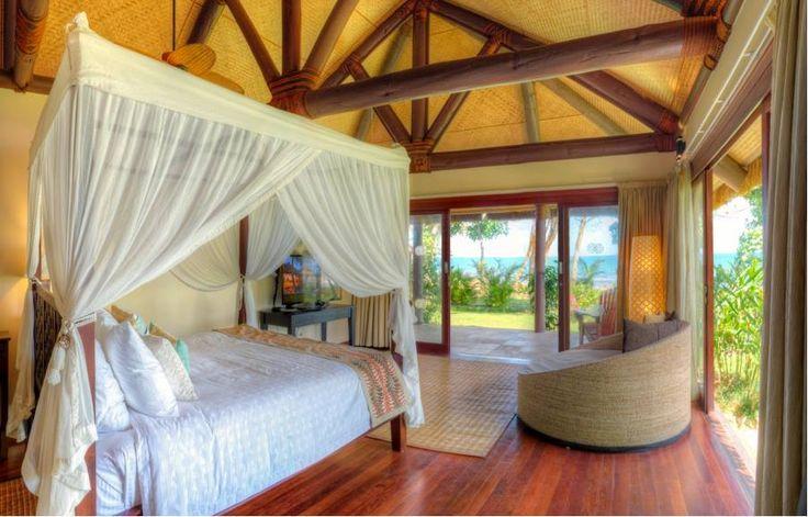 Your luxurious beachfront villa awaits your stay at Nanuku Auberge Resort