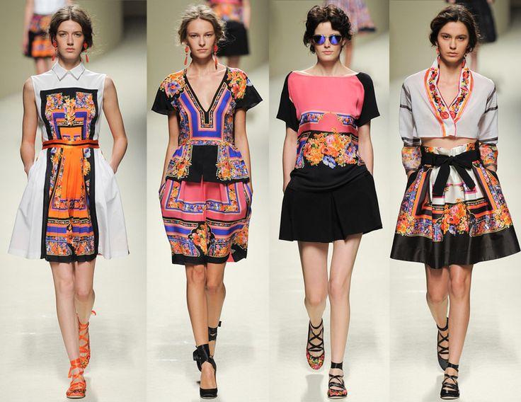 Colección Primavera - Verano 2014 Alberta Ferrati | Dres