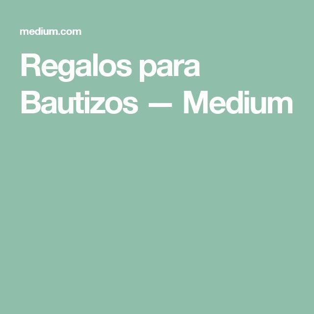 Regalos para Bautizos — Medium