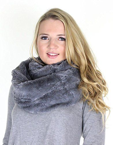 Ladies Luxury Large Faux Fur Snood Cowl Neck Wrap Scarf (Cream): Amazon.co.uk: Clothing