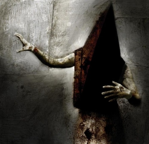 Silent Hill's Red Pyramid Head