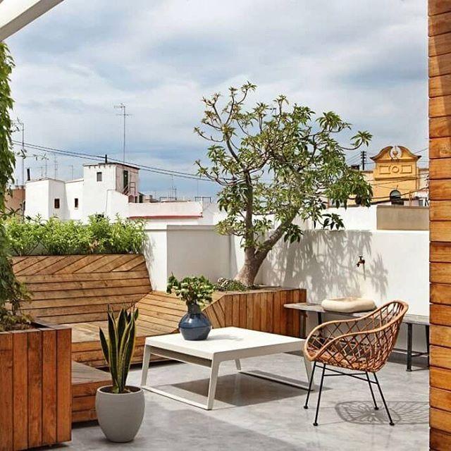 Super nice rooftop terrace. #interior #furniture #terrace #living #lounge