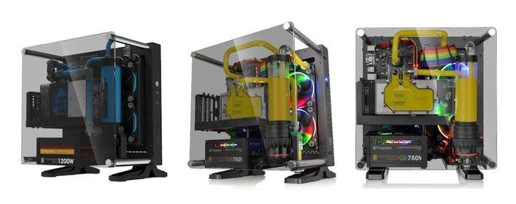 Un boîtier mini-ITX Thermaltake Core P1 TG (59Hardware)