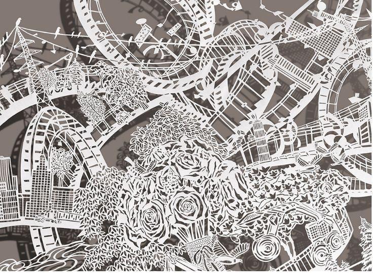 Best Art Books Paper Bovey Lee Images On Pinterest Cut - Incredible intricately cut paper designs bovey lee