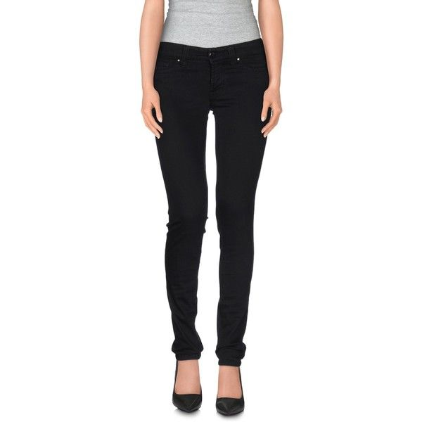 S.o.s By Orza Studio Casual Trouser (380 BRL) ❤ liked on Polyvore featuring pants, black, black slim fit pants, black stretchy pants, slim fit pants, black zipper pants and black cotton pants