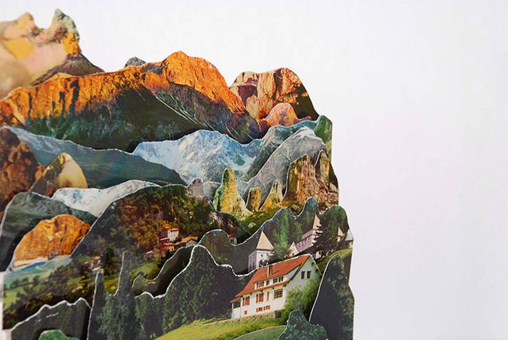 http://www.fubiz.net/2016/08/29/layered-landscapes-in-relief-created-with-old-postcards/