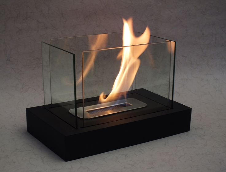 Bioethanol Fireplace Heater with Table Tempered Glass - 4 Tapered single burner. Get it on Weekly Deals #fireplace #heater #homedecor