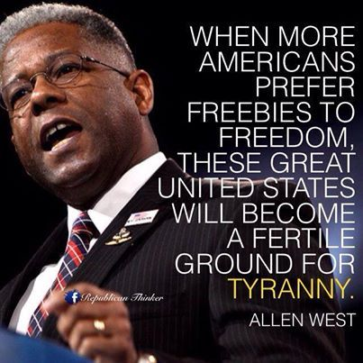 THE MAN SPEAKS THE TRUTH!  And peruse who the main populace is that love freebies