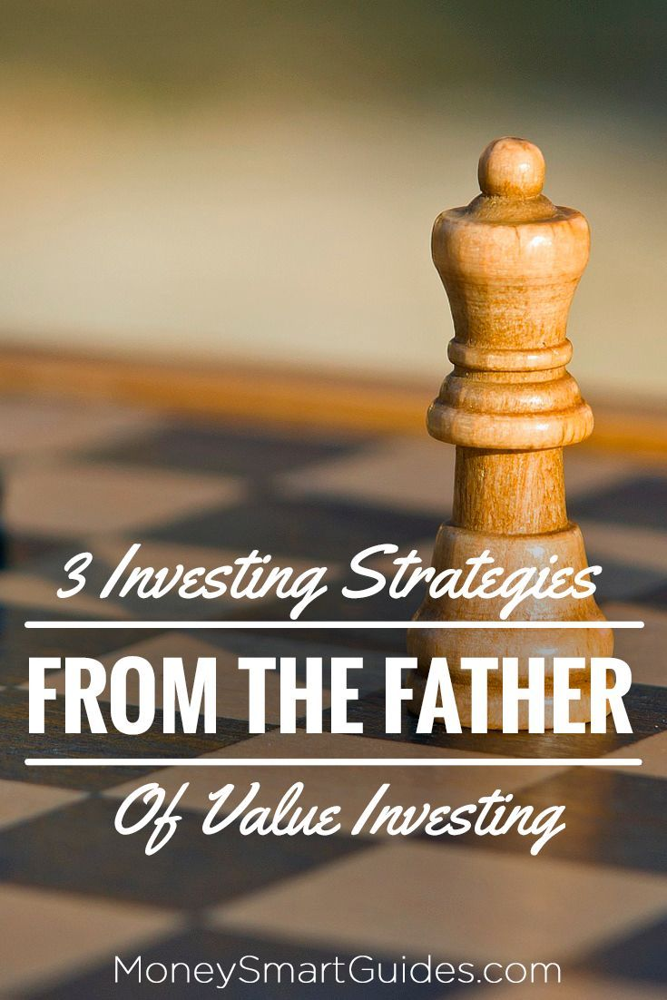 3 Investing Strategies from the father of value investing.     http://MoneySmartGuides.com