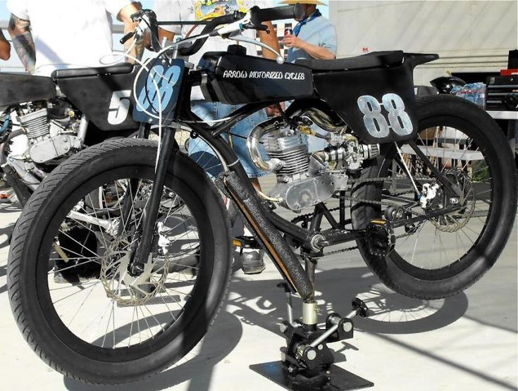 FAT TIRE motorized bicycle - racer