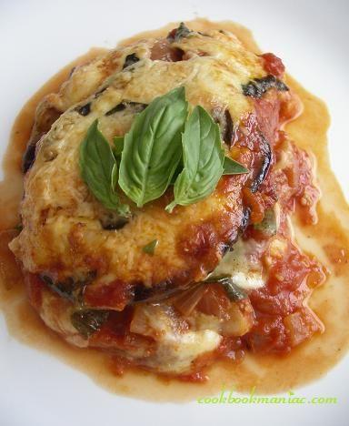 ... Voluptuous Delights - Eggplant Parmigiana - A Vegetarians Delight