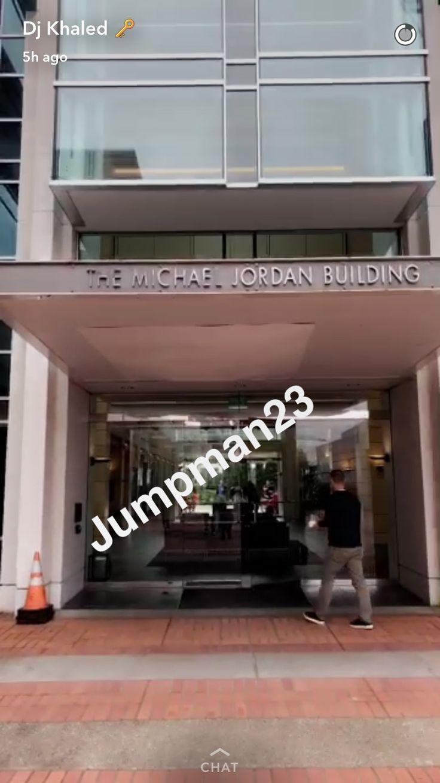 DJ Khalid is in Oregon creating his sneaker with Jordan Brand.