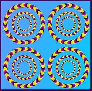 Optical Illusions #zienrs #grafisch #kunst #vormgeving #kijken #illusie