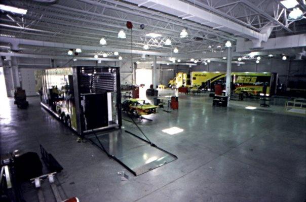 Inside the race shop