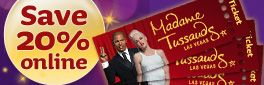 Buy tickets online for Madame Tussauds Las Vegas and save!