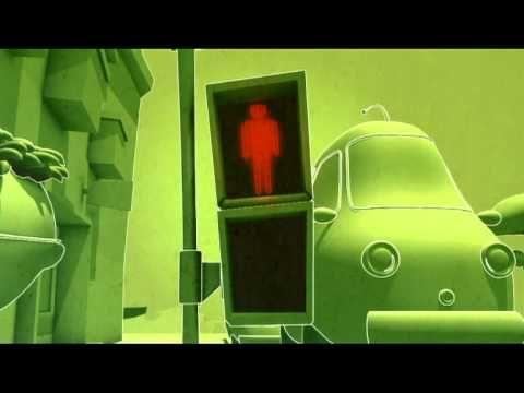 GreenLight - Pedestrian Traffic Lights - Cartoon videos safety road kids