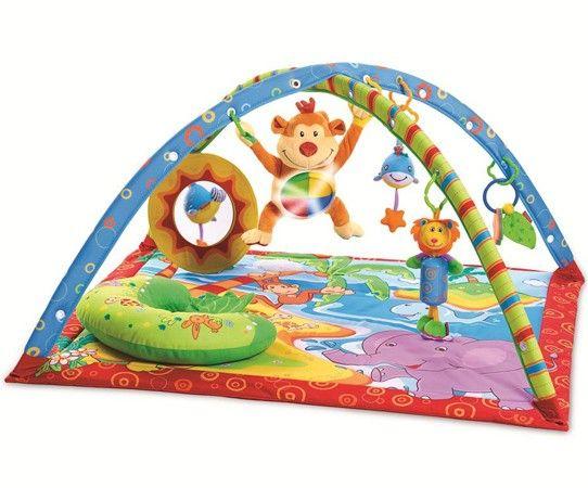 El gimnasio para bebés Gymini Isla del Mono de Tiny Love es un mundo para el desarrollo, lleno de diversión con descubrimientos y entretenimiento para su bebé. Una genial alfombra de juegos para bebés https://carlitosbaby.com/gimnasios-y-alfombras-para-bebes/1630-gimnasio-isla-del-mono-de-tiny-love.html