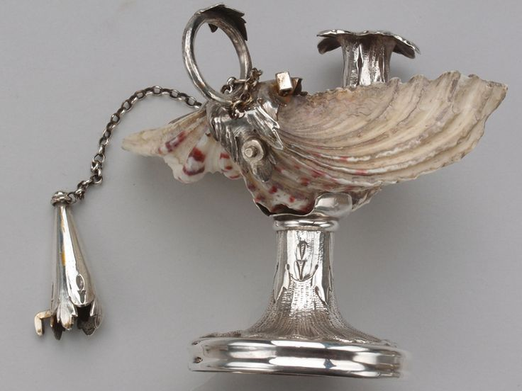 English 19th Century Sterling Chamberstick