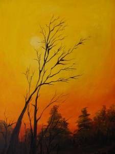 autumn gün batımı