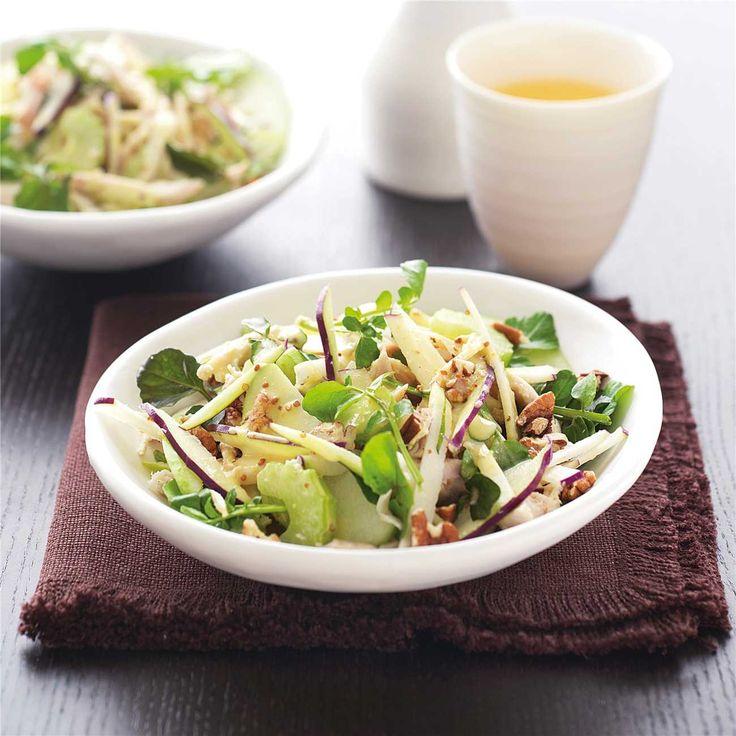 Chicken & Kohlabi Salad
