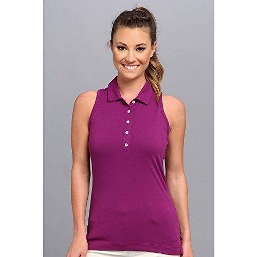 (ナイキゴルフ) Nike Golf レディース トップス 長袖シャツ Sport Core Sleeveless Racerback Polo 並行輸入品  新品【取り寄せ商品のため、お届けまでに2週間前後かかります。】 カラー:Bright Grape 商品番号:ol-8286689-310576