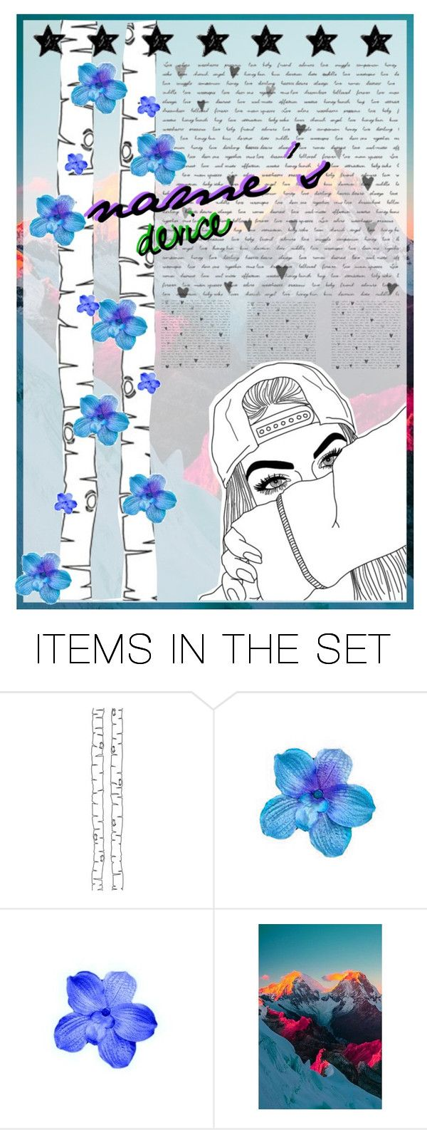 """""""open wallpaper - Lacey"""" by sunlight-canvas ❤ liked on Polyvore featuring art and laceyswallpapers"""