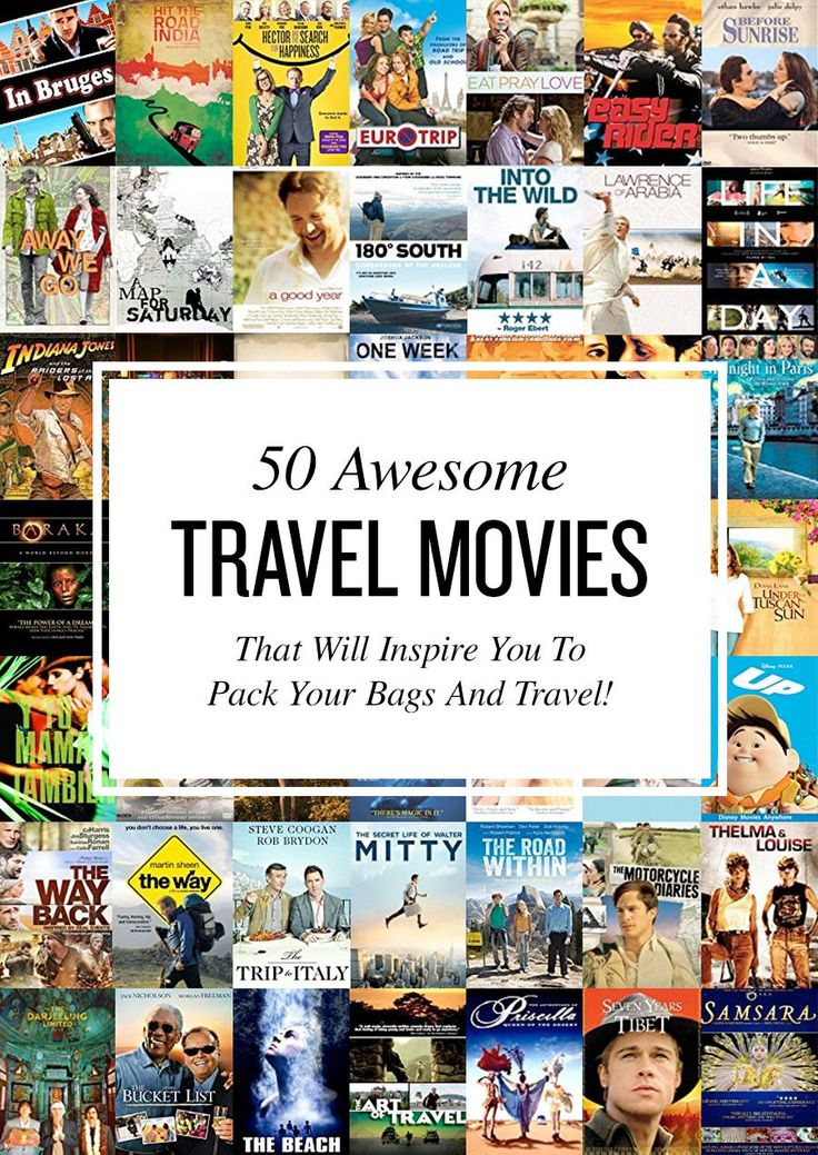 """Do you like to travel? Do you enjoy movies? From """"Under the Tuscan Sun"""" to """"The Bucket List"""", here are the best travel movies of all time."""