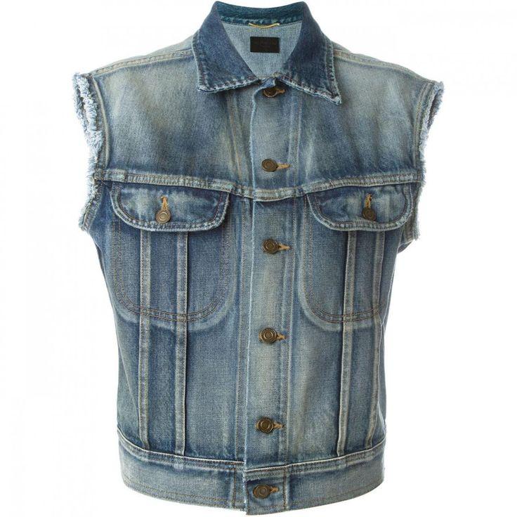 Best 25  Sleeveless denim jackets ideas on Pinterest | Sleeveless ...