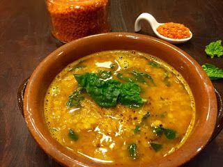 Zuppa di lenticchie rosse al profumo di curry di Elisa