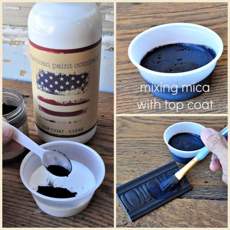 Mixing Mica Powders from American Paint Company — American Paint Company  Check us out -- TwigsandTwineCO.com