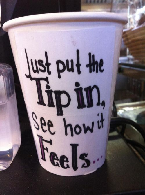 Best tip cup ever!
