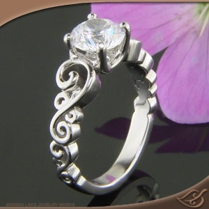 Green Lake Jewelry works -- wonderful designers, could I have this tomorrow?  #engagement and #jewelryworks