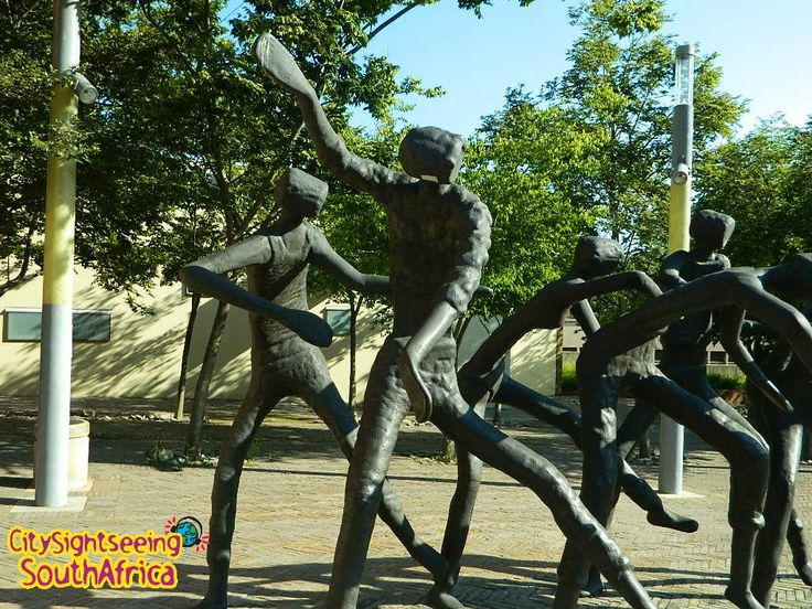 This great artwork can be found at Constitution Hill, Stop 12 on our Joburg Red City Tour. #JoziRedBus  Get your tickets at www.citysightseeing.co.za/tickets