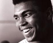 Muhammid Ali - His sense of humor, his beliefs and his boxing history.