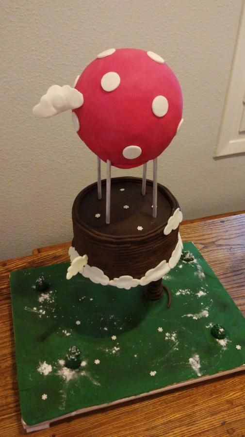 Gravity air balloon - Cake by nef_cake_deco