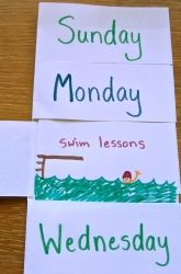 Learn days of the week and family routine