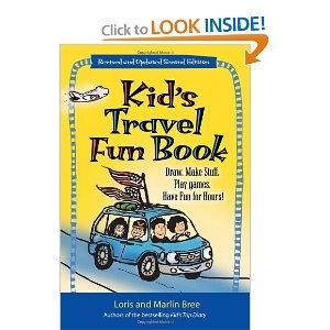 Kid's Travel Fun Book: Draw. Make Stuff. Play Games. Have Fun for Hours!  from Amazon!