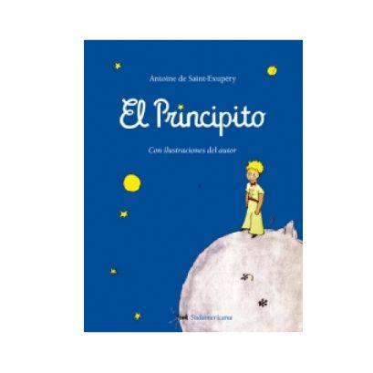 El principito-incluye ilustraciones del autor  Antoine de Saint-Exupéry Editorial: Sudamericana Páginas: 112