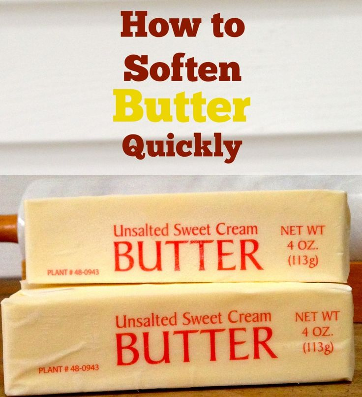 If you need softened butter for a recipe DO NOT put the stick of butter in the microwave! It will wreck the recipe.  This trick will save you tons of time! All you need to do is put your butter in a Ziploc bag and place it in a cup or bowl of warm water. In a few minutes you will have perfect softened butter and it is great for spreading on rolls too!