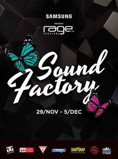 We AMPED and ready for #Rage2014 so should U. THE SOUND FACTORY IS THE HEART OF Rage Festival South Africa, something U really don't want to miss.  International Djs will be making U stay on your feet and pretty much get U warmed up for the RAGE #BreakFree2014 FESTIVAL!!!