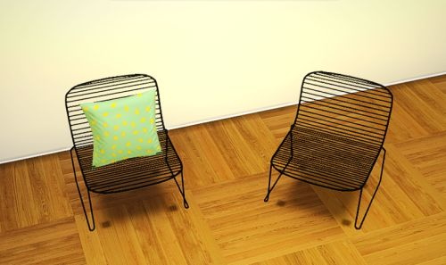 "maja-oona:  ""Today I have for you a new conversion. It's Gallery Loft Chair by MarcusSims91 (original mesh here). This chair reminds me of Hee Lounge chair from Danish brand Hay. Love it!  Three sets with 6 colors each, basics, neons and pastels. I..."