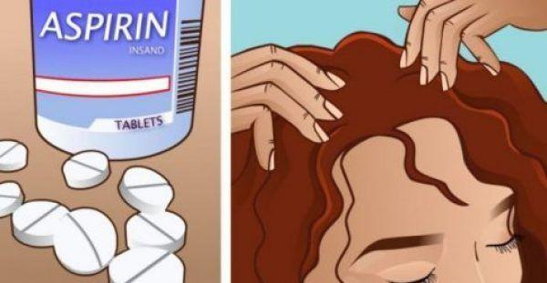 Τρίβει Ασπιρίνη Στα Μαλλιά Της! Εσείς Ξέρετε Τον Λόγο;