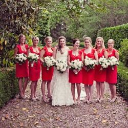 Delectable inspiration post for those brides looking to integrate a red colour scheme into their big day! Photo: Katie Day Photo