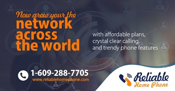 Make #long #distance #calls and talk all the time you want with a long distance per minute or an #unlimited #plan. Save with the best #international calling plans.   Toll Free: +1-888-778-9335, www.reliablehomephone.com