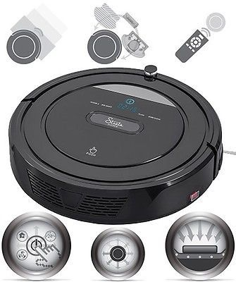 ﹩287.68. Smart Robotic Vacuum Cleaner High Suction Self-Docking Self-Charging HEPA 100min    Type - Robotic, Bagged/Bagless - Dust Bin, Filters - HEPA, Cord Type - Cordless, Features - Rotating Brushes, Power - 15 watts,