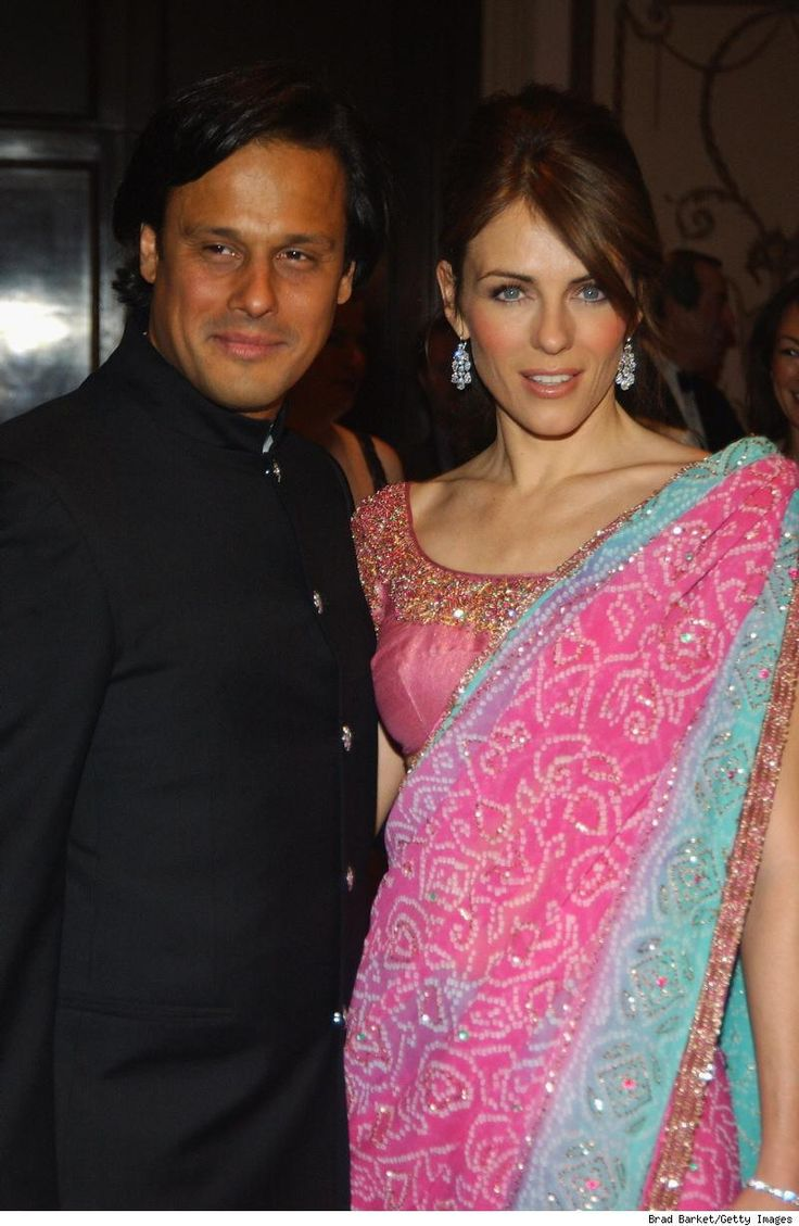 India At Home In A Foreign Land Page 2 Extravagant Wedding Elizabeth Hurley Extravagant