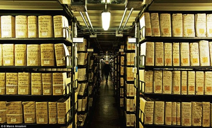 Located in Vatican City, the Vatican Secret Archives are owned by the Pope…