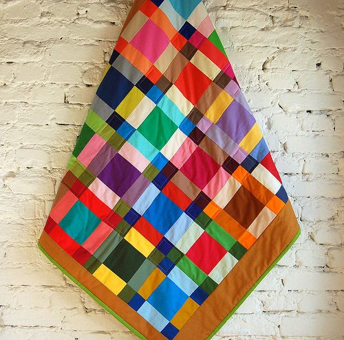 blanket: Colour, Solid Colors, Baby Quilts, Quilts Frankfurt, Sweet Solid, Colors Quilts, All Solid Quilts, Quilts Ideas, Bright Colors
