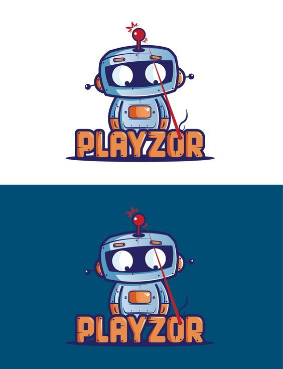 Logo design by SilverFox Design. I like how this has a cute character and has action to it :).:
